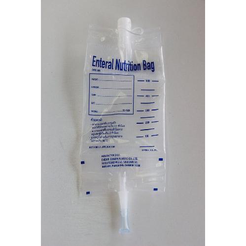ถุงอาหารสำหรับผู้ป่วย Enteral Nutrition Bag 1 ห่อ 20 ชิ้น