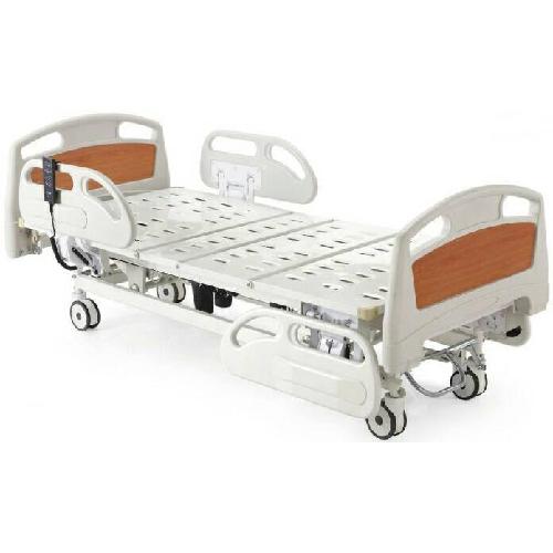 เตียงผู้ป่วย 3 ไก ไฟฟ้า แบบปีกนก เตียงสูงจากพื้น 50 ซม.รับน้ำหนักได้ 150 กิโลกรัม