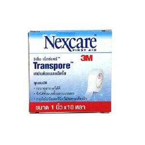 พลาสทรานสปอร์ Transpore 1 นิ้ว แบบใส