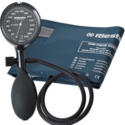 เครื่องวัดความดันแบบกระเป๋า RIESTER รุ่น E-MEGA ราคา 1,450 บาท
