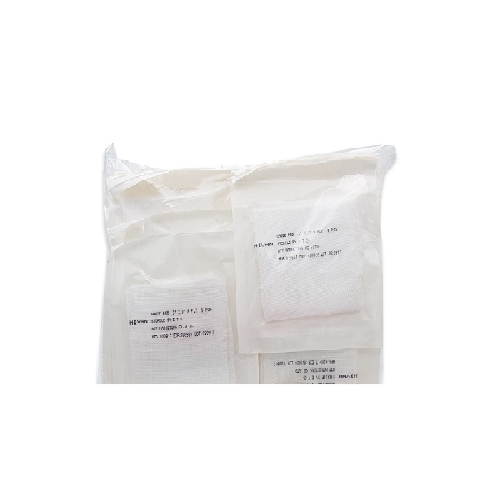 ผ้าก๊อซพับ สเตอร์ไรด์ 8 PLY ขนาด 4x4 นิ้ว (ซองละ 5 ชิ้น ห่อละ 50 ซอง)