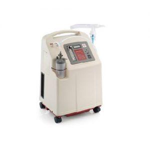 เครื่องผลิตออกซิเจนขนาด 8 ลิตร พ่นยาได้ รองรับผู้ป่วยเจาะคอ แถมที่วัดออกซิเจนปลายนิ้ว ยี่ห้อ YUWELL รุ่น 7F-8W