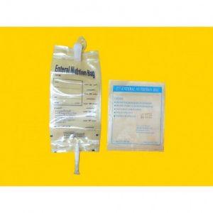 ถุงอาหารสำหรับผู้ป่วย (Enteral Nutrition Bag) 1 ห่อ (20 ชิ้น)