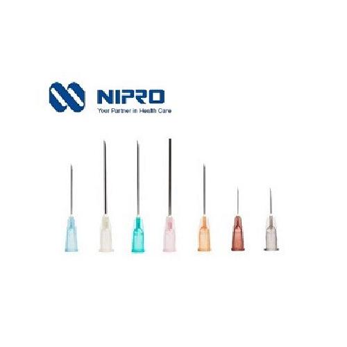 Nipro Hypodermic Needle เข็มฉีดยา ยี่ห้อ นิโปร เบอร์ 27 X 1