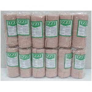 ผ้าพันเคล็ด ยีห้อ IZZI แพ็คละ 12 ม้วน ขนาด 4 นิ้ว