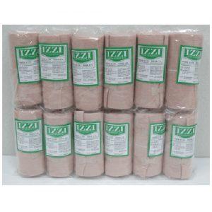 ผ้าพันเคล็ด ยีห้อ IZZI แพ็คละ 12 ม้วน ขนาด 6 นิ้ว